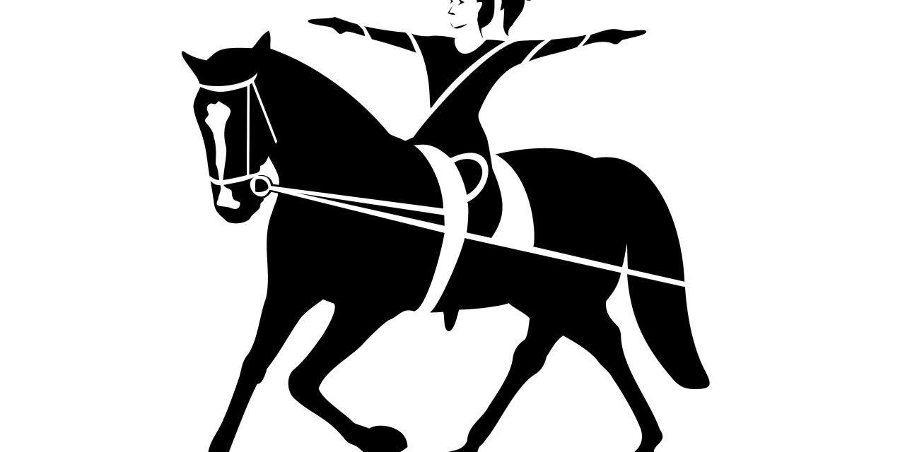 Balansövningar till häst